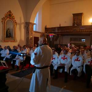 """Conferencia """"Los templarios y los símbolos de lo sagrado"""" en Nápoles en la Basílica de San Lorenzo Maggiore"""