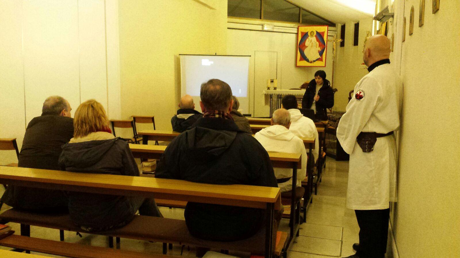 Conferencia «El Santo Sudario y los Templarios» – Iglesia de San Sergio – Trieste