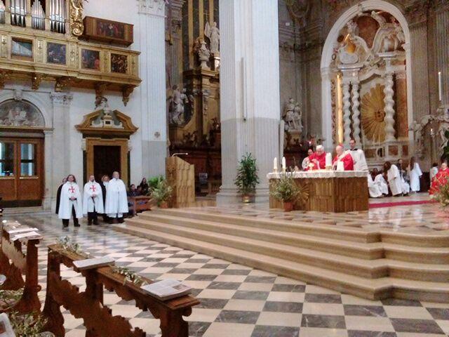 Domingo de Ramos – Catedral de Udine – Marzo de 2018