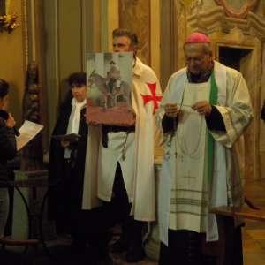 El Obispo de Susa Su Excelencia Monseñor Confalonieri en la Rogación (peregrinación de oración) de Susa – 7 de abril de 2018
